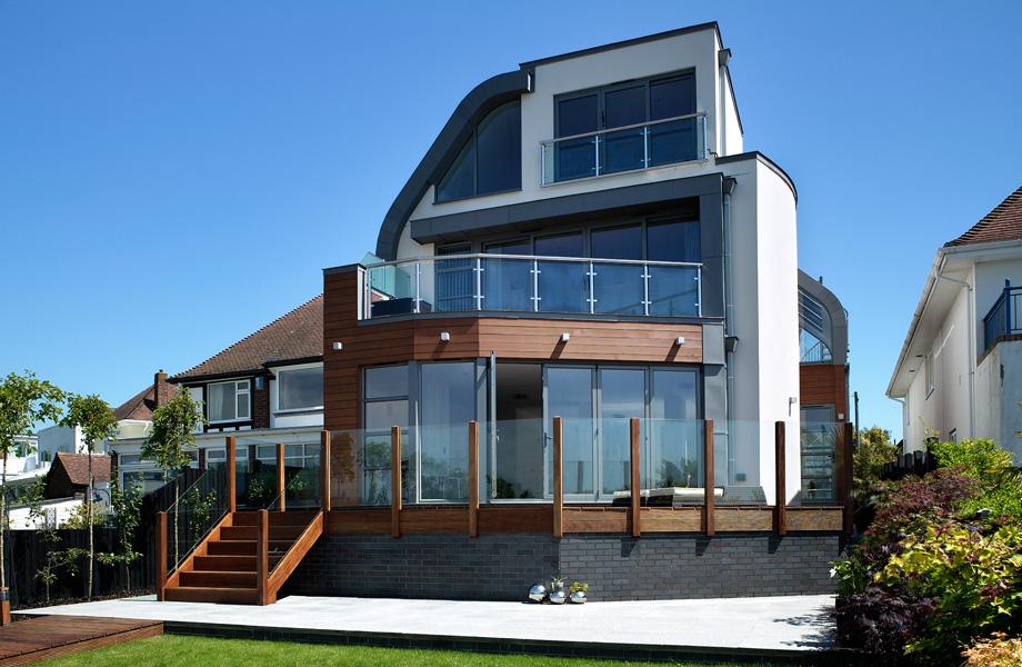 David Wright Architectural Design - Salterns Way - New Build